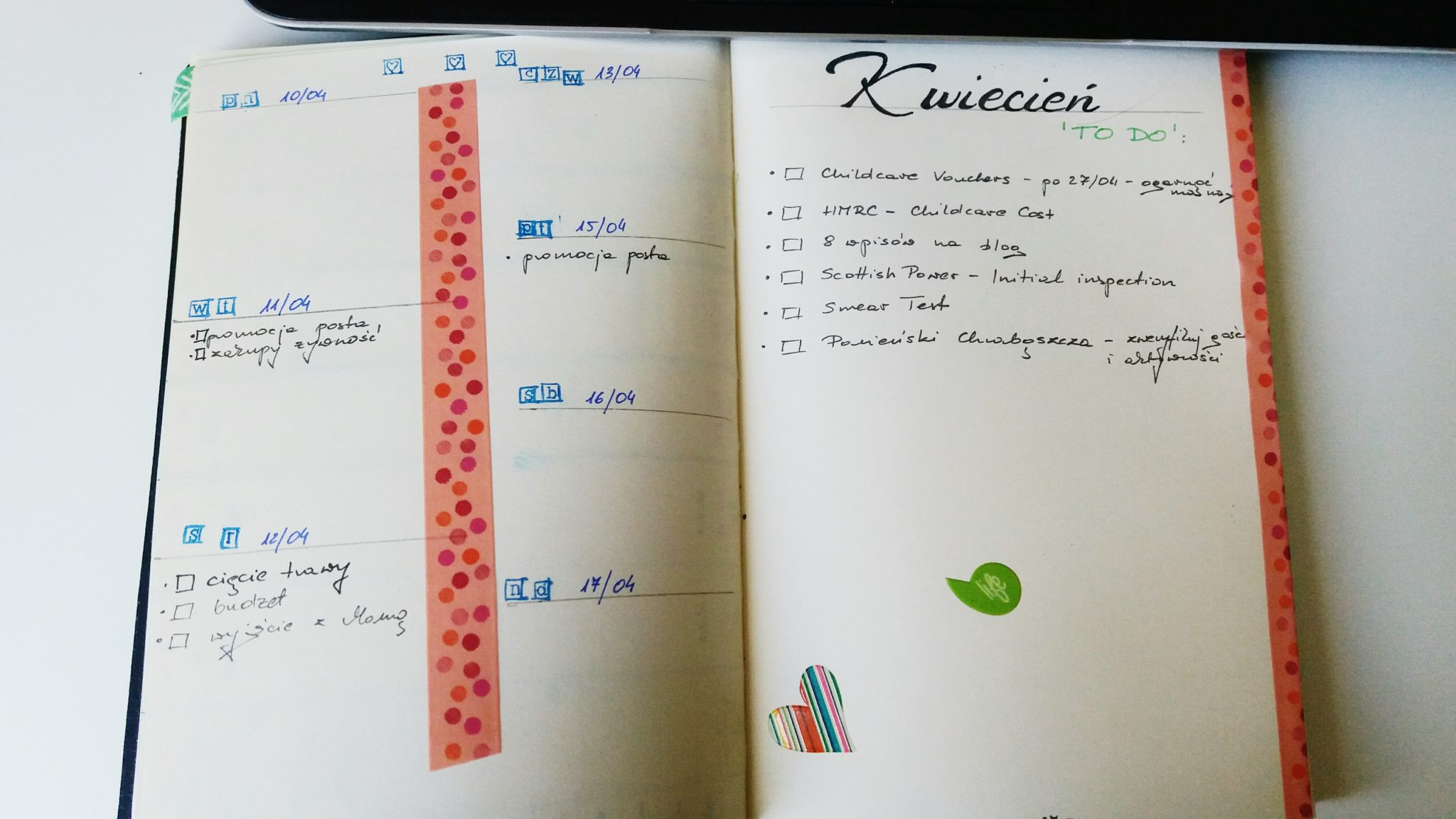 Mój Bullet Journal